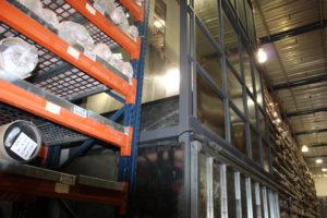 מעלית משא לחברת הוליס תעשיות בא.ת. אלון תבור